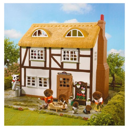 Sylvanian Families Highfields Farm House