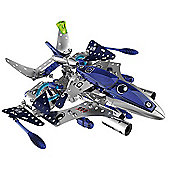 Meccano Space Chaos Silver Force Destroyer