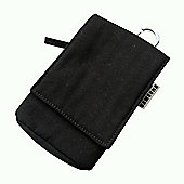 Samsung Original Fabric Bag for Universal Smartphone Devices - Black