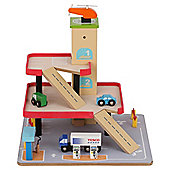 Carousel Wooden Garage Set