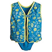 Speedo Sea Squad Swim Vest, 3-4 years, Blue.
