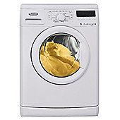 Whirlpool WWDC 7210 Washing Machine, 7kg Wash Load, 1200 RPM Spin, A+ Energy Rating. White