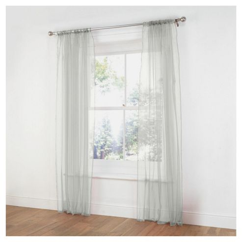 Tesco Pair Voile Channel Top W137xL229cm (54x90
