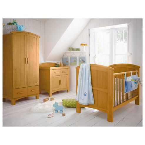 Cosatto Hogarth 3 Piece Room Set, Light Country Pine