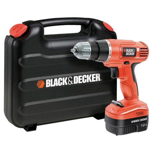 BLACK+DECKER 12V Cordless Drill Driver EPC12CAK