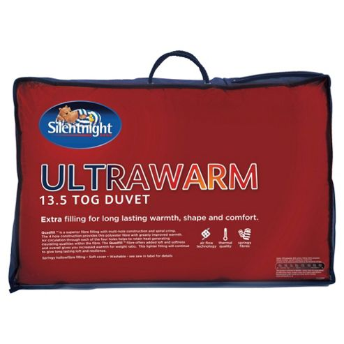 Silentnight Ultrawarm 13.5 Tog Single Duvet With Free Pillow