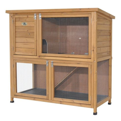 Rabbitshack Hutch with large under run