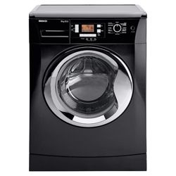 Beko WMB91242LB Washing Machine, 9kg Wash Load, 1200 RPM Spin, A++ Energy Rating. Black