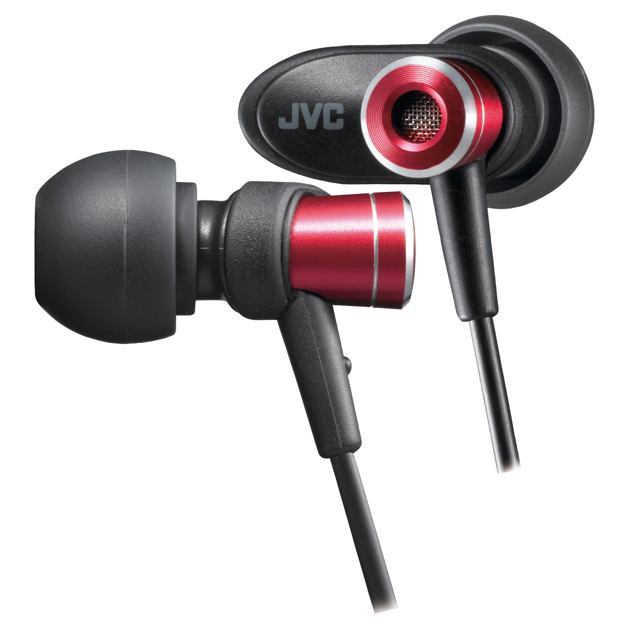 JVC Micro HD In-Ear Canal Headphones Red HAFXC51RE