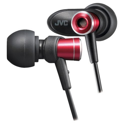 JVC Micro HD In-Ear Headphones - Red HA-FXC51-R