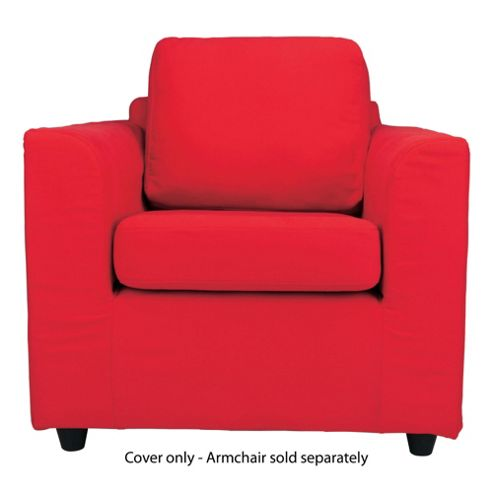 Ashley Loose Cover For Armchair, Red