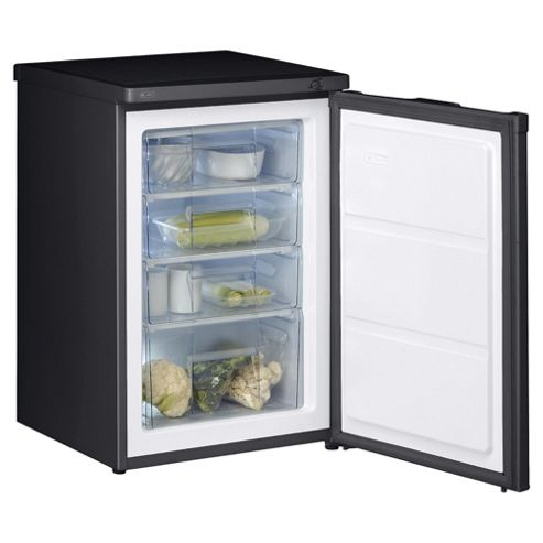 Whirlpool AFB601 Under Counter Freezer, Freezer Capacity: 88 Litres, Energy Rating A, Width 55.0cm. Black