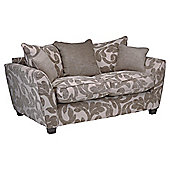 Richmond Small Fabric Sofa, Taupe