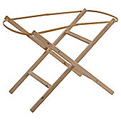 Clair De Lune Wooden Folding Moses Basket Stand - Ready Assembled