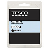 Tesco H364PB Photo Black Printer Ink Cartridge (Compatible with printers using HP 364 Photo Black Cartridge)