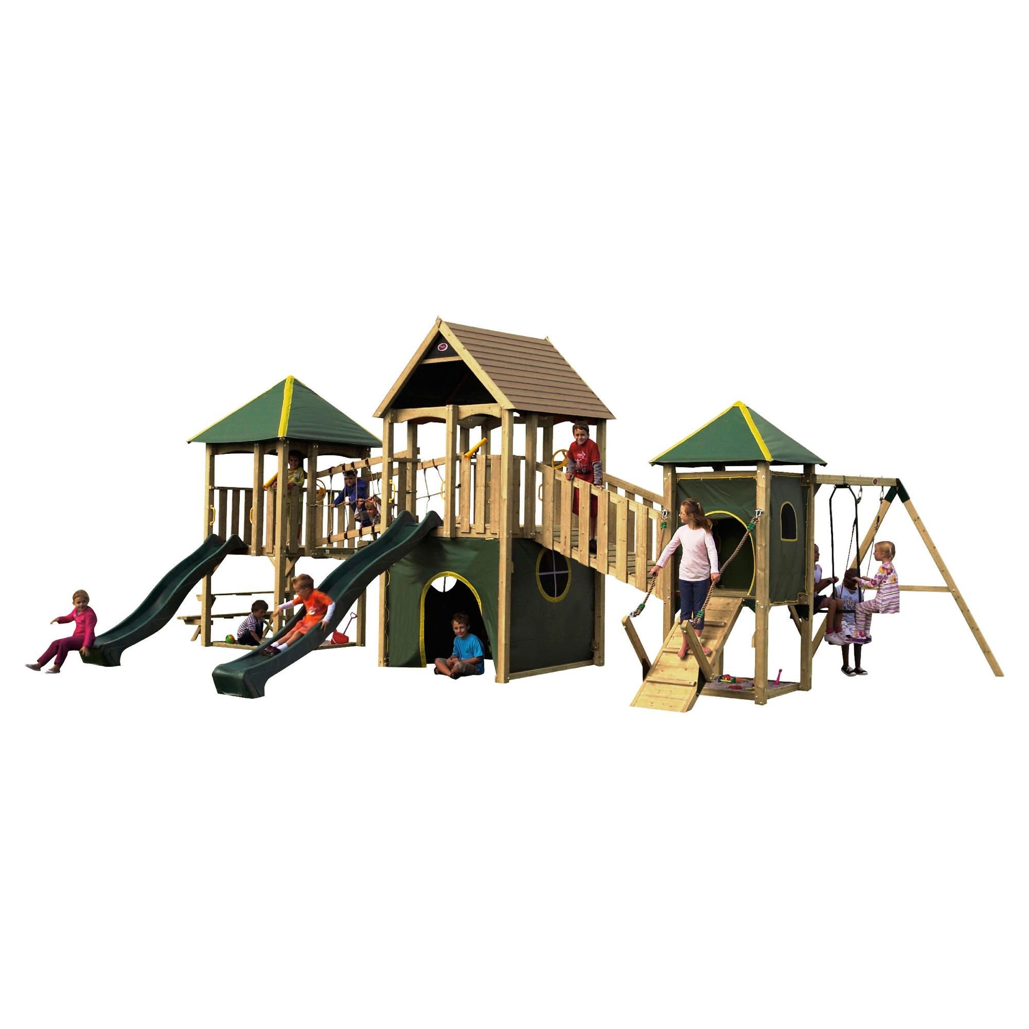 Plum Wildebeest Large Wooden Play Centre at Tesco Direct