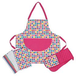 Tesco Metro 3 piece Kitchen Textile Set