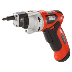 Black & Decker 3.6v Lithium Screwdriver Bundle