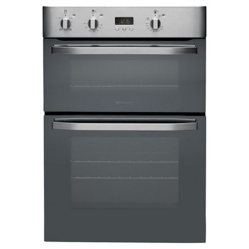 Hotpoint DHS53X Stainless Steel Built In Double Oven