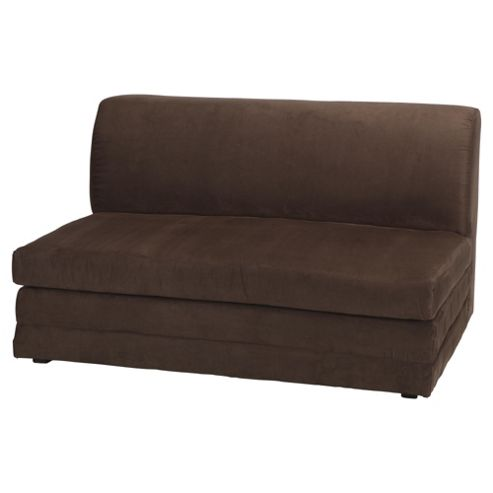Mitchell Foam Fold Out Sofa Bed Chocolate