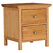 Hampstead Bedside Chest, Oak