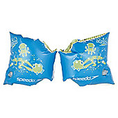 Speedo Sea Squad Swimming Armbands, Blue