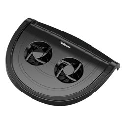 Fellowes CRC: 80165 Cool Pad Cooling stand Black - For up to 15 inch Laptops/Netbooks