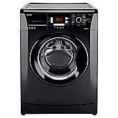 Beko WMB81241LB Washing Machine, 8kg Wash Load, 1200 RPM Spin, A+ Energy Rating. Black