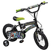 "Ben 10 Ultimate Alien 14"" Kids' Bike with stabilisers"