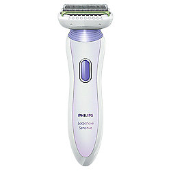 Philips Ladyshave HP6366/00 Sensitive 3-in-1 Skin Protection System with Pivoting Head