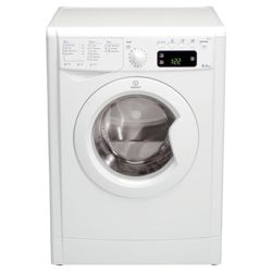 Indesit IWE81281 Washing Machine, 8kg Wash Load, 1200 RPM Spin, A Energy Rating. White