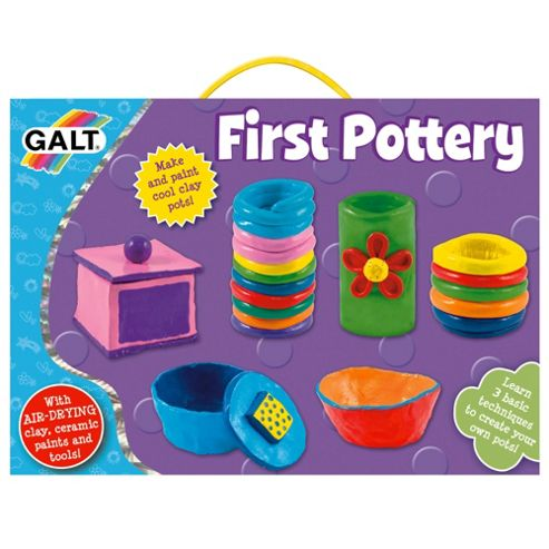 First Pottery Activity Cases