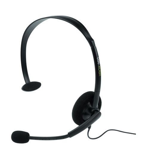 Microsoft Xbox 360 Wired Headset - Black