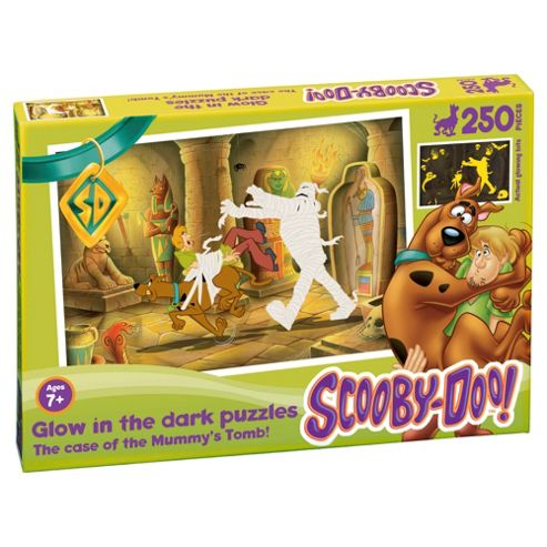 Scooby Doo Glow in the Dark Mummys Tomb 250 piece puzzle