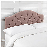 Seetall Sandon Headboard Oyster Velour King