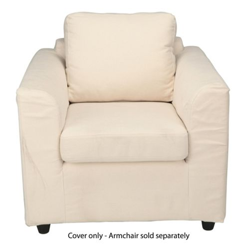 Ashley Loose Cover For Armchair, Natural