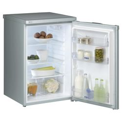 Whirlpool  ARC103 Under Counter Fridge, Capacity 128 Litres, Energy Rating A, Width 55.0cm. Silver