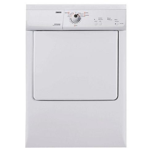 Zanussi ZDE47200W Vented Tumble Dryer, 7kg Load, C Energy Rating. White
