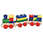 Melissa & Doug Wooden Toy Stacking Train