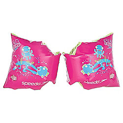 Speedo Sea Squad Swimming Armbands, Pink