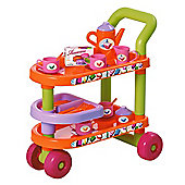 Ecoiffier Pretend Play Hostess Trolley