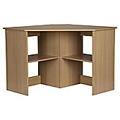 Fraser Corner Desk, Oak Effect