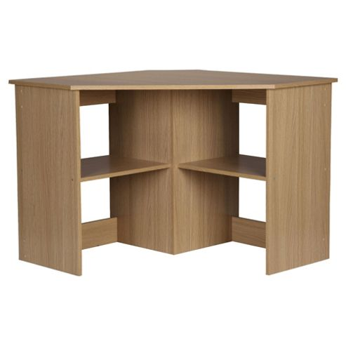 Fraser Oak Effect Corner Desk