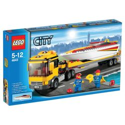 LEGO City Power Boat Transporter 4643
