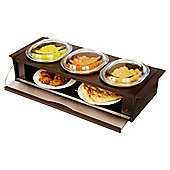 Cordon Bleu Side Server, HO392BR - Brown