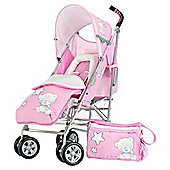 Obaby Tiny Tatty Teddy Atlas V2 Stroller Bundle, Pink