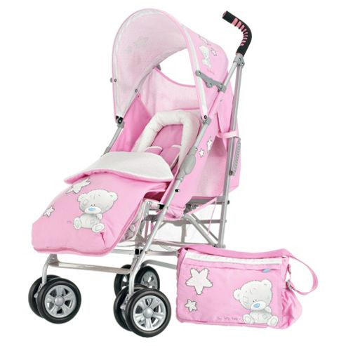 Obaby Tiny Tatty Teddy Atlas V2 Stroller Bundle, Pink