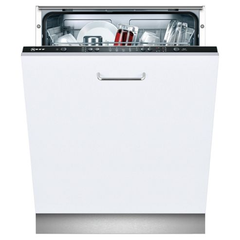 Neff Series 2 S51E50X1GB Integrated Full Size Dishwasher, A Energy Rating. White