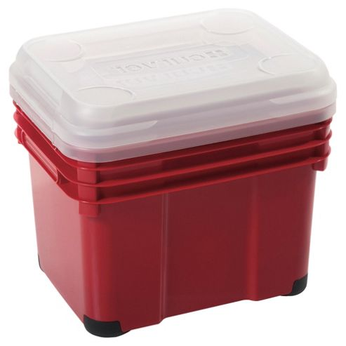 Curver 15L Unibox with lid, 2 pack