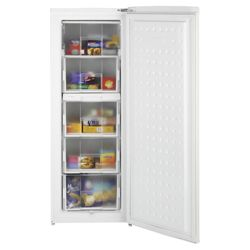 Beko TZDA503 Static Tall Freezer, Freezer Capacity: 175 Litres, Energy Rating A, Width 54.4cm. White